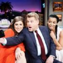 The Late Late Show with James Corden - Mayim Bialik and Susan Kelechi Watson (September 2017)