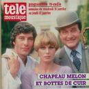 The New Avengers - Tele Moustique Magazine Pictorial [Belgium] (15 January 1987) - 373 x 488