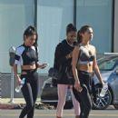 Chantel Jeffries – Leaving pilates in Los Angeles