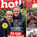 Ildikó Gaál and Róbert Koltai - HOT! Magazine Cover [Hungary] (5 November 2020)
