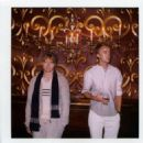 Rupert Grint and Tom Felton took part in a photo shoot at the Magic Castle in Los Angeles to model Band Of Outsiders Fall 2011 line