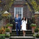 Meghan Markle and Prince Harry –Announce their engagement at Kensington Palace