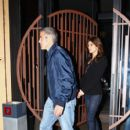 George Clooney and Elisabetta Canalis Have a Date Night