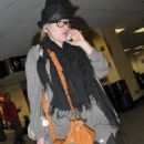 Scarlett Johansson - Arriving At The Airport In Washington, D.C. 30 April 2010