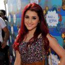Ariana Grande - Kevin James And Steffiana James Host A Make-A-Wish Event, 14 Mar 2010