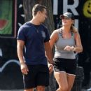 Miranda Lambert in Shorts – Out for a stroll in NYC - 454 x 689