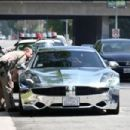 Justin Bieber gets pulled over for speeding in Los Angeles,Ca