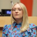 Dakota Fanning – United Nations World Autism Day Meetings in NY
