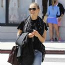 Bar Refaeli Out and About In Beverly Hills