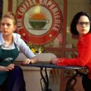 Scarlett Johansson and Thora Birch in United Artists' Ghost World - 2001
