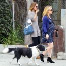 Anna Paquin taking her dog for a walk in Venice, CA (August 24) - 454 x 430