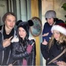 at Disneyland with  Matt Prokop,sarah hyland