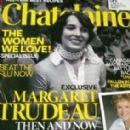 Margaret Trudeau - Chatelaine Magazine Cover [Canada] (November 2009)