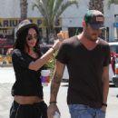 Megan Fox And Brian Austin Green Stop By A Coffee Bean In Santa Monica, July 12 2009