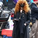 Natasha Lyonne and Annie Murphy – Russian Doll set in Soho - 454 x 714