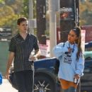 Ariana Grande – Arrives at a music studio in Hollywood