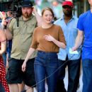 Emma Stone – Films 'Billy on the Street' set in New York City - 454 x 668