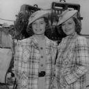 Ann Robinson and Olivia de Havilland