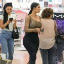 Kim Kardashian – Stops by Ulta Beauty Cosmetics Store in Calabasas