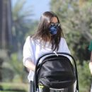 Lea Michele – Seen out with her husband in Santa Monica