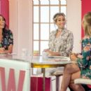 Christine Bleakley at 'Loose Women' TV show in London - 454 x 291