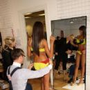 Selita Ebanks - Victoria's Secret Fitting Backstage