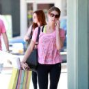 Ashley Greene: headed over to Studio City where she put in a good sweat at her gym
