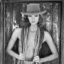 Karlie Kloss for Tamara Mellon Kowboy Karlie 2014 ad campaign