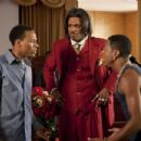 (L-r) BOW WOW as Kevin Carson, MIKE EPPS as Reverend Taylor and BRANDON T. JACKSON as Benny in Alcon Entertainment's comedy 'LOTTERY TICKET,' a Warner Bros. Pictures release. Photo by David Lee - 454 x 302