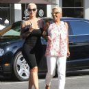 Amber Rose Shopping in Beverly Hills, California - August 18, 2016
