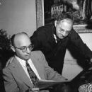 Kurt Weill Getting Ready For A New Musical With Ira Gershwin