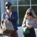 Annabelle Wallis and Chris Pine – Shopping in Los Angeles - 454 x 403