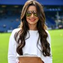 Cheryl Tweedy and Nicola Roberts – GAME4GRENFELL charity football match – London - 454 x 681