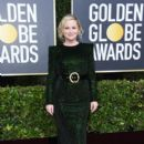 Amy Poehler wears Sergio Hudson Dress : 77th Annual Golden Globe Awards