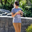 Kaley Cuoco – Seen out and about in Calabasas