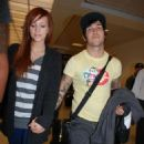 Ashlee Simpson & Pete Wentz Arrive In DC For The White House Dinner, 2008-04-25