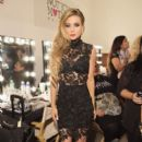 Carmen Electra poses backstage during theWantmylook by Lilly Ghalichi Style360 Spring 2015 fashion show at Metropolitan Pavilion on September 10, 2014 in New York City