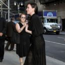 Liv Tyler – Arriving at The Late Show with Stephen Colbert in NYC - 454 x 681