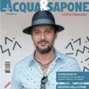 Claudio Santamaria - Acqua & Sapone Magazine Cover [Italy] (October 2016)