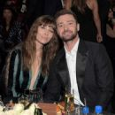 Jessica Biel and Justin Timberlake attends The 22nd Annual Critics' Choice Awards at Barker Hangar on December 11, 2016 in Santa Monica, California - 454 x 530