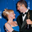 Nicolas Cage and Patricia Arquette At The 68th Annual Academy Awards - Press Room (1996) - 435 x 580