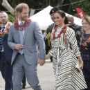 Meghan Markle and Prince Harry – Visits a handicraft fair at the Fav'oneoua Centre in Tonga