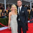 Naomi Watts and Liev Schreiber At The 19th Annual Screen Actors Guild Awards (2013) - 395 x 594