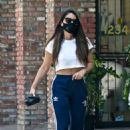 Olivia Munn – Looks sporty wearing Addidas while leaving a nail salon in Studio City - 454 x 689