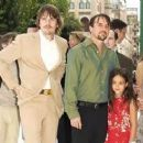 Lorelei Linklater Richard Linklater and Ethan Hawke at the premiere of Waking Life in Venice