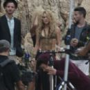 Shakira- Commercial Shooting in Spain - 454 x 302