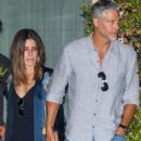 Sandra Bullock – Leaving Soho House with her boyfriend in LA