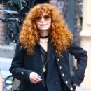 Natasha Lyonne and Annie Murphy – Russian Doll set in Soho - 454 x 498