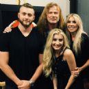 Dave & Pamela Mustaine - 454 x 454