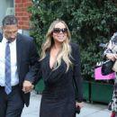 Mariah Carey – Leaving Mr Chow Restaurant in Beverly Hills - 454 x 571